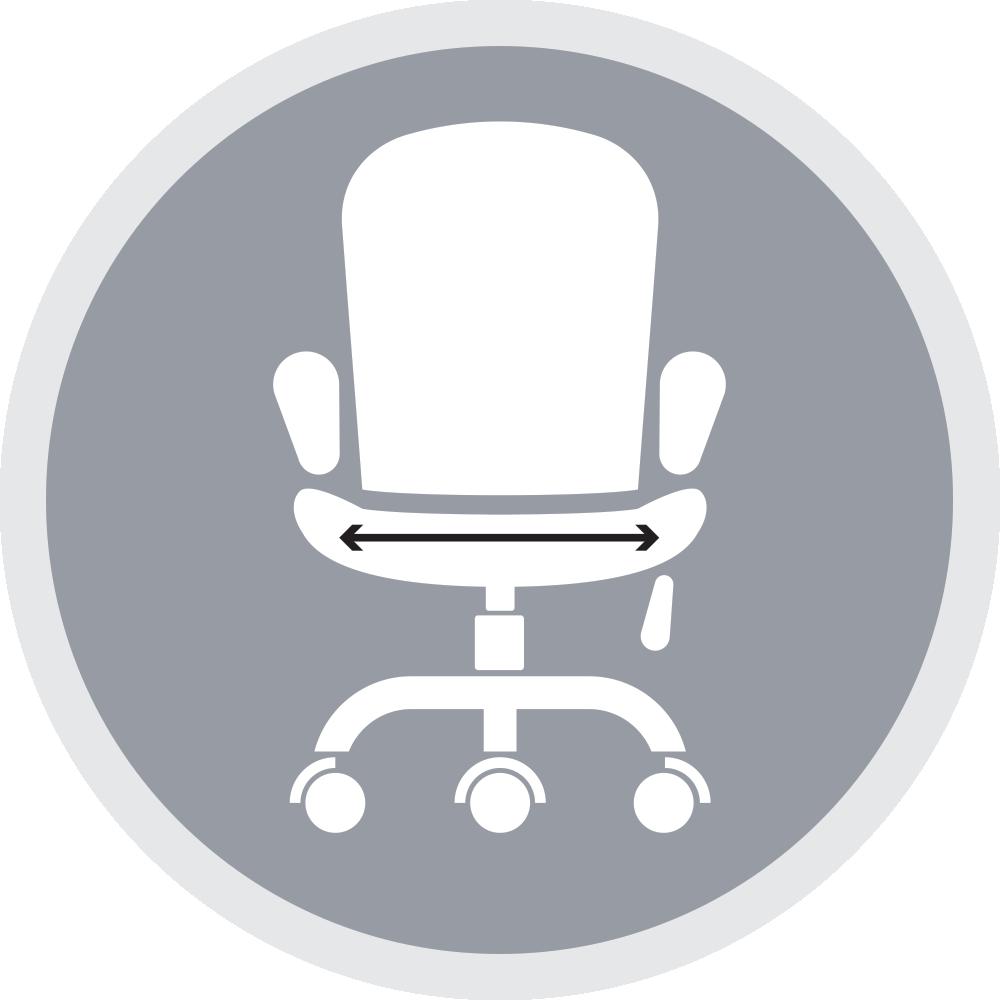 מושב רחב במיוחדמתאים לבעלי משקל גבוהומבנה גוף רחב