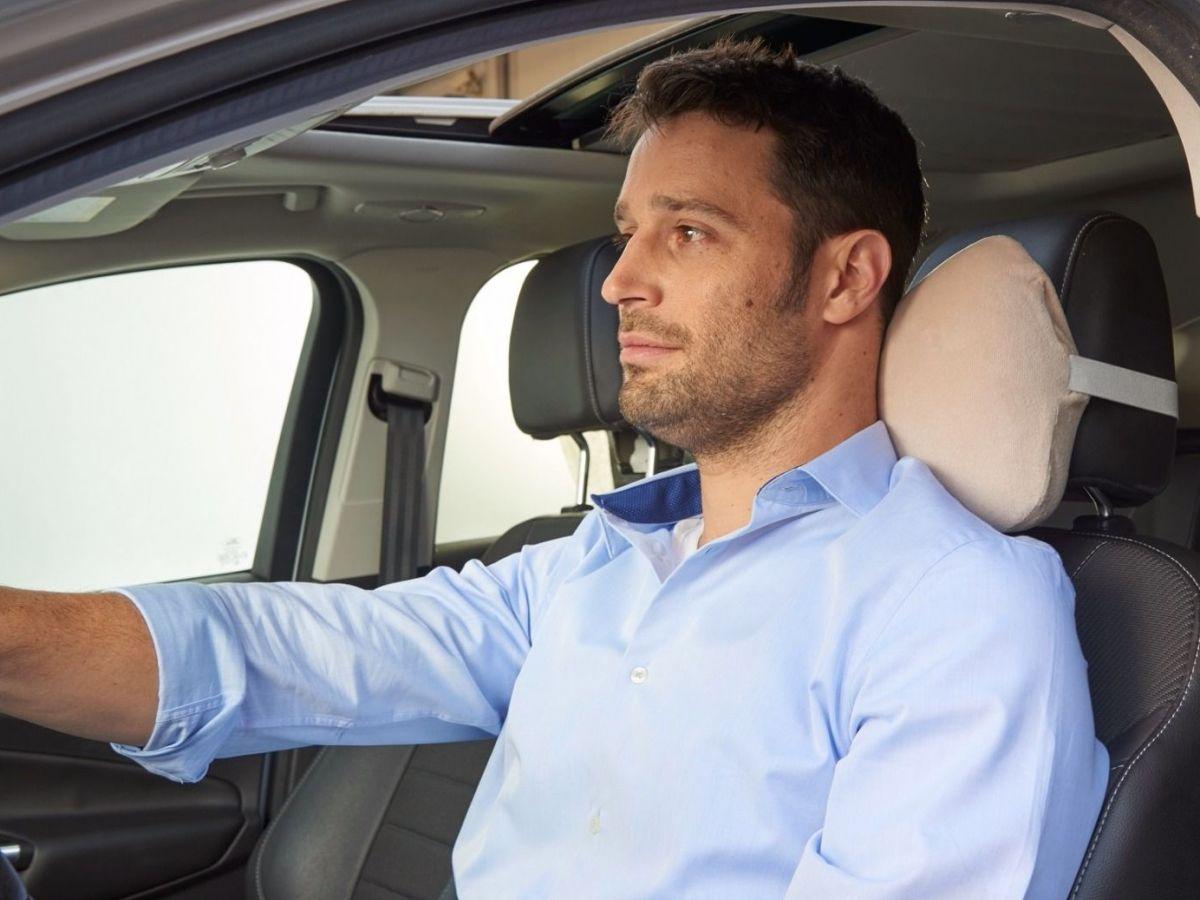 כרית תמיכה אורטופדית צווארית לרכב