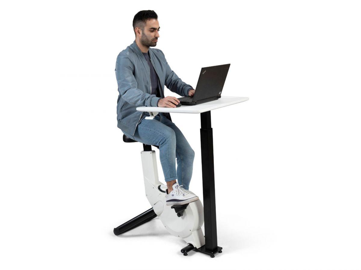 שולחן עבודה אקטיבי משולב עם אופני כושר LT-300