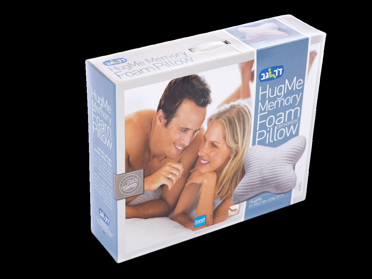 כרית שינה אורטופדית HugMe