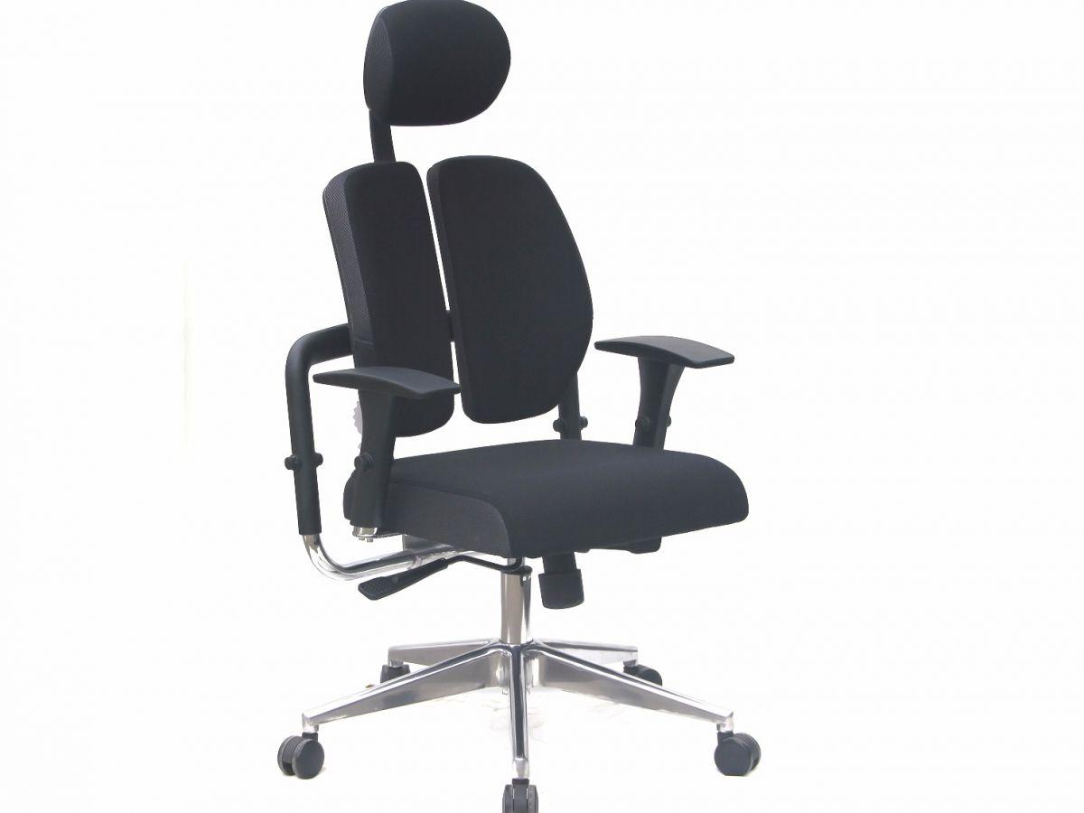 כיסא מנהלים משרדי אורטופדי DOUBLE BACK