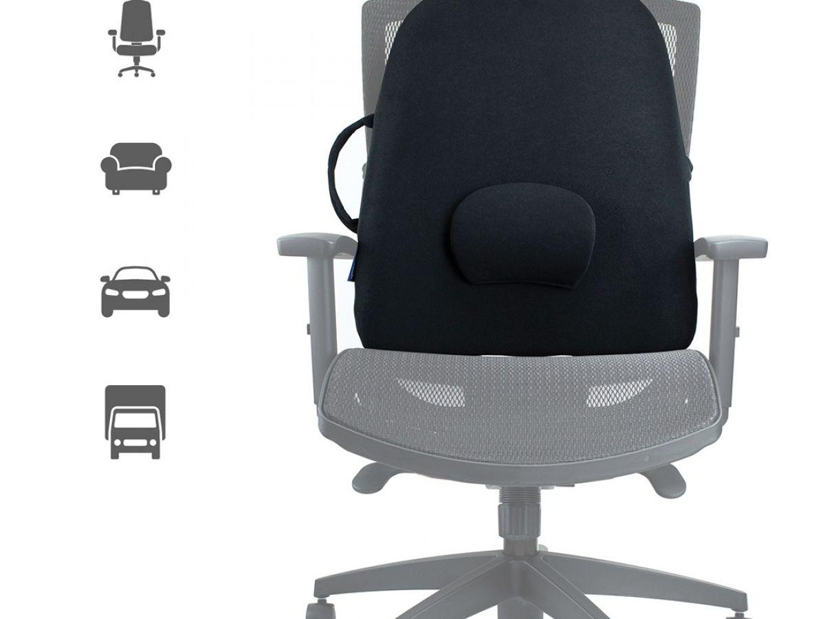 משענת גב אורטופדית רחבה OBUS, מושב אורטופדי