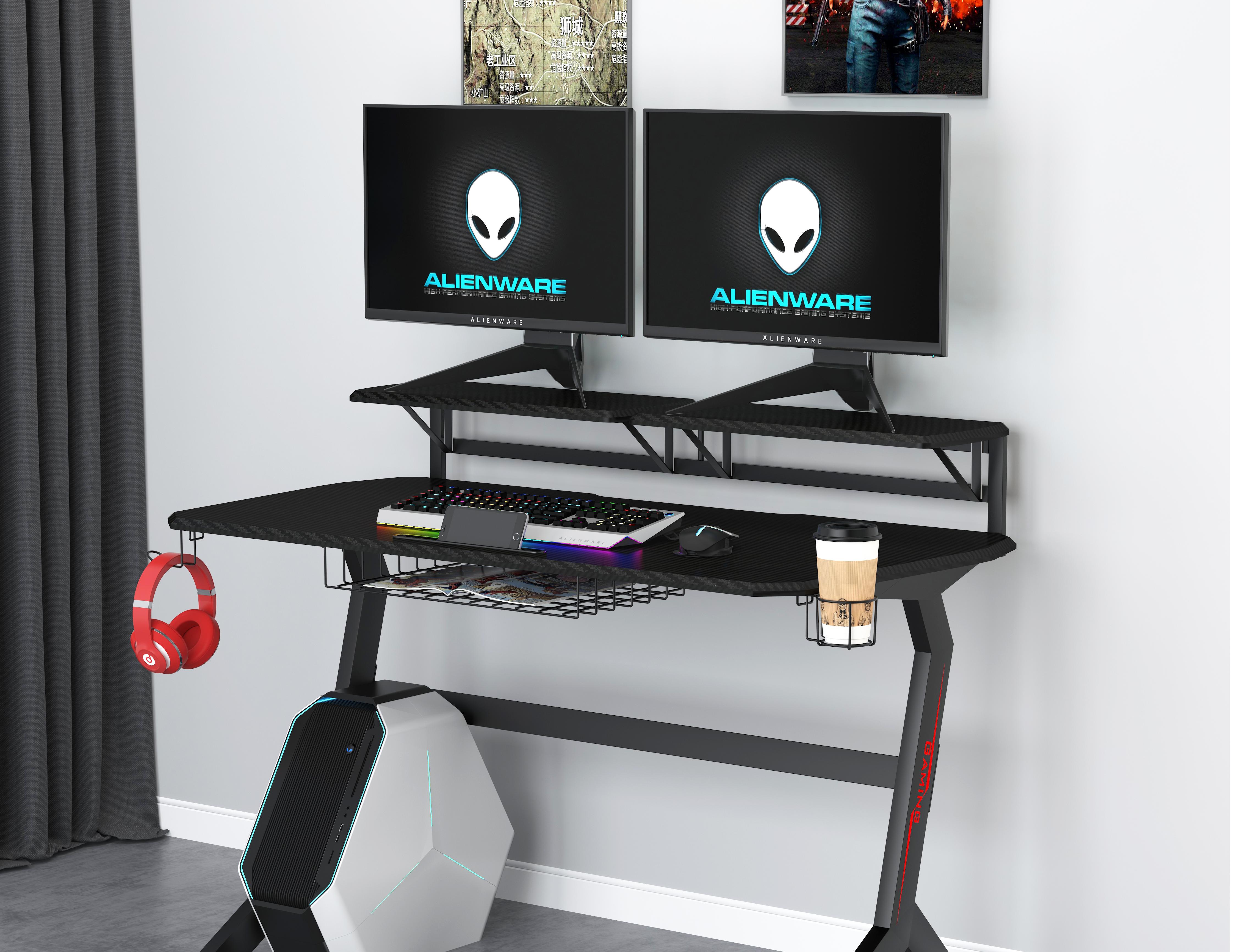 שולחן גיימינג VS שולחן מחשב רגיל